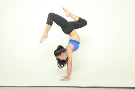 Double Stag Handstand