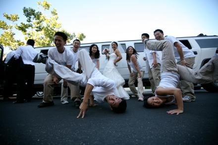 Eight Count Hip Hop Wedding Dance