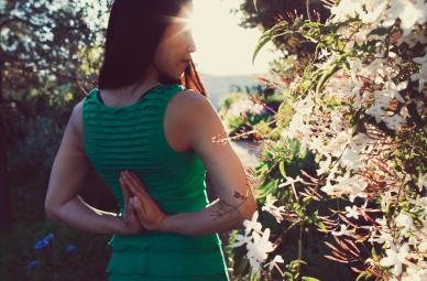 Pashchima Namaskarasana Reverse Prayer Pose