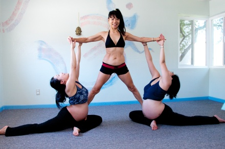 Pregnant Partner Yoga With Sherry Han And Lisa Liu