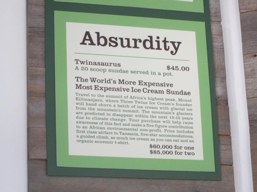 Three Twins Ice Cream Absurdity