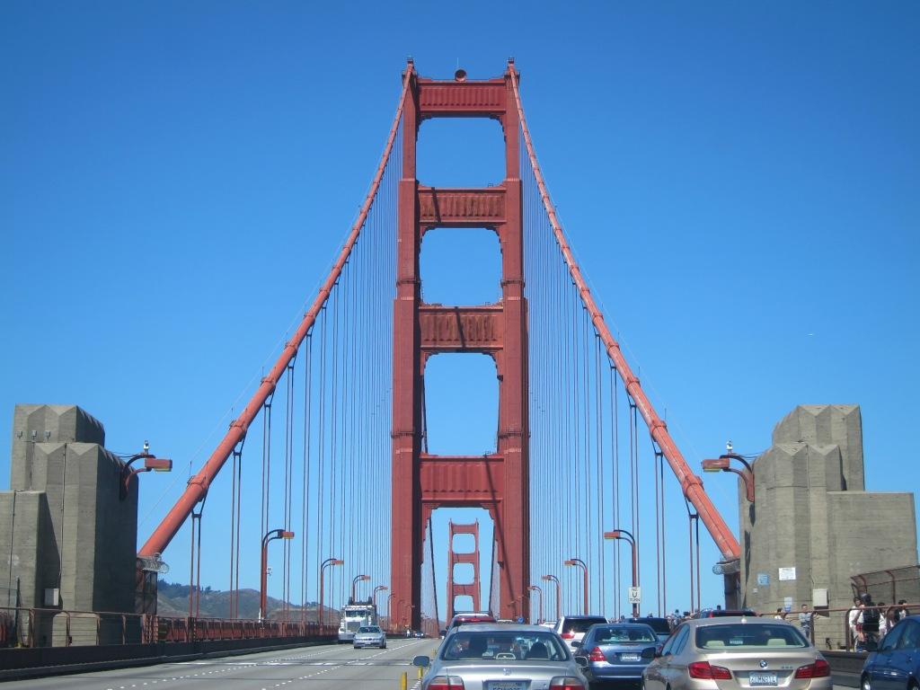 Golden Gate Bridge to Marin