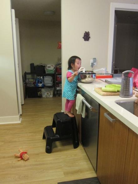 Making-Zucchini-Bread