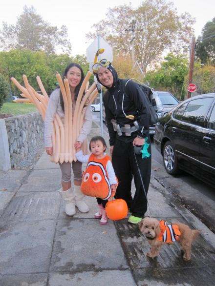 Halloween Family Costume Finding Nemo