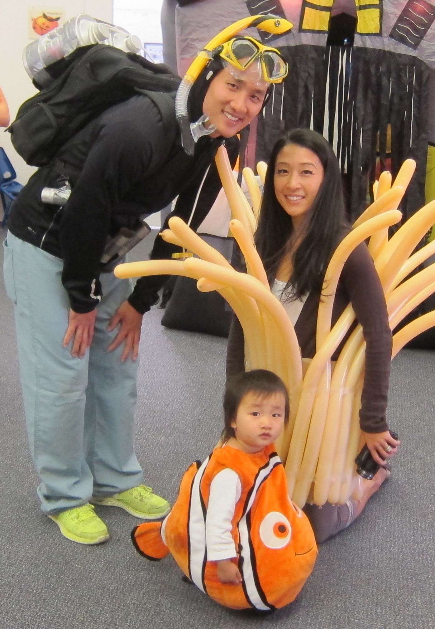 Halloween Family Costume 2013: Finding Nemo | Grace Ling Yu
