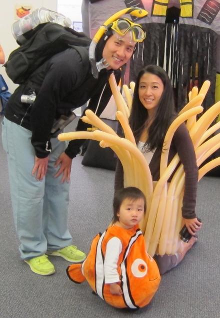 Finding Nemo Halloween Family Costume