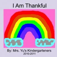 Thankful Book Kindergarteners