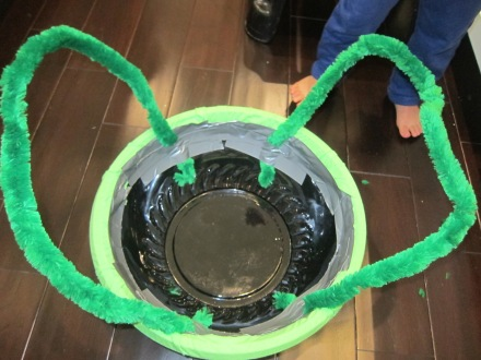 Halloween Family Costume Making Turtle Shell Straps