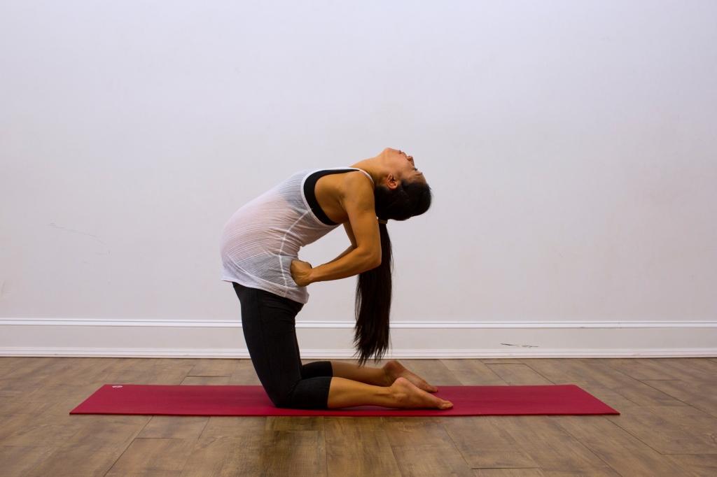 Prenatal Yoga Modifications Camel
