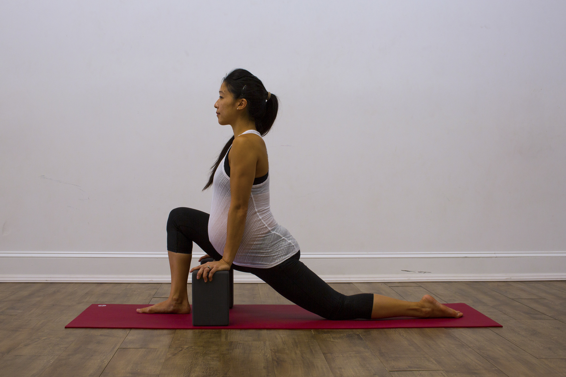 Watch Prenatal Yoga Sun Salutation Pose video