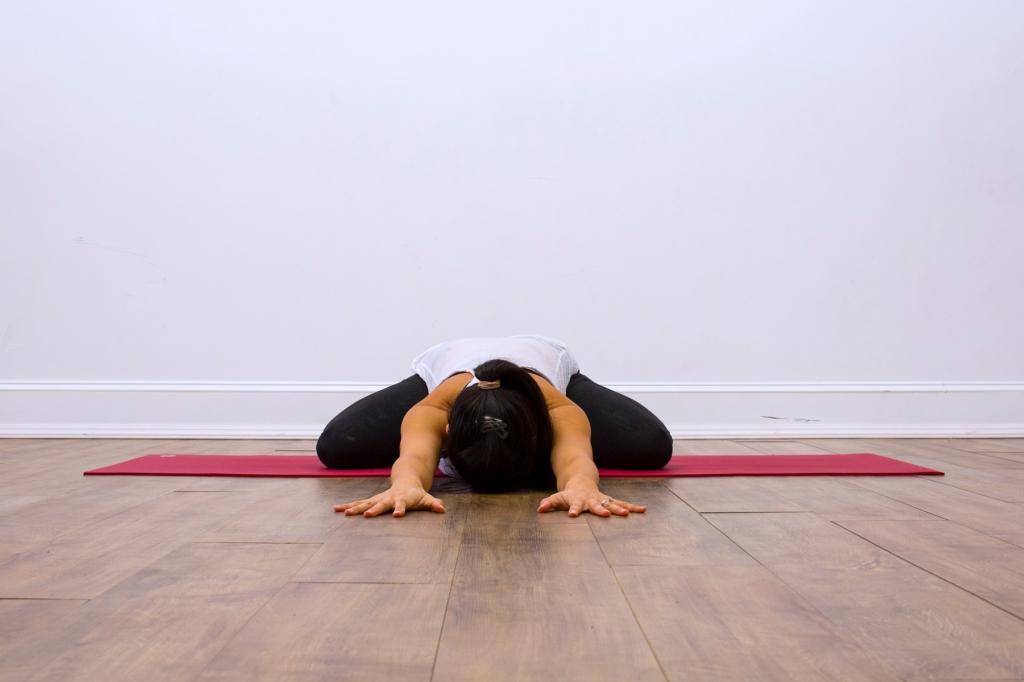 Prenatal Yoga Modifications Child's Pose