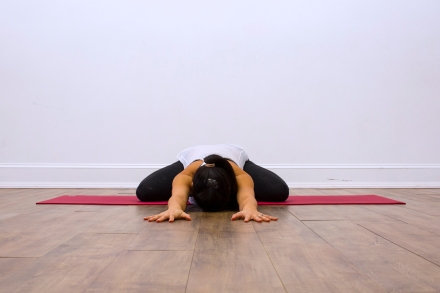 Prenatal Yoga Modifications Child's Pose