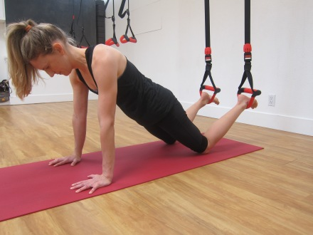 Suspension Based Training - Kneeling Plank
