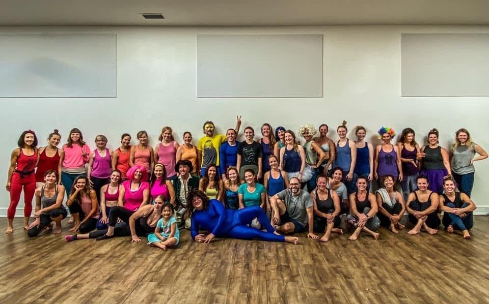 """True Colors"" Halloween Yoga 2019 at Marin Power Yoga"